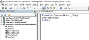 Userforms – VBA Tutorial Code