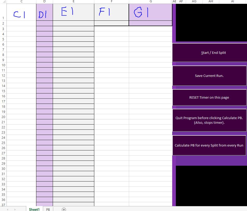 Twitch Speedrunning Timer Download – VBA Tutorial Code