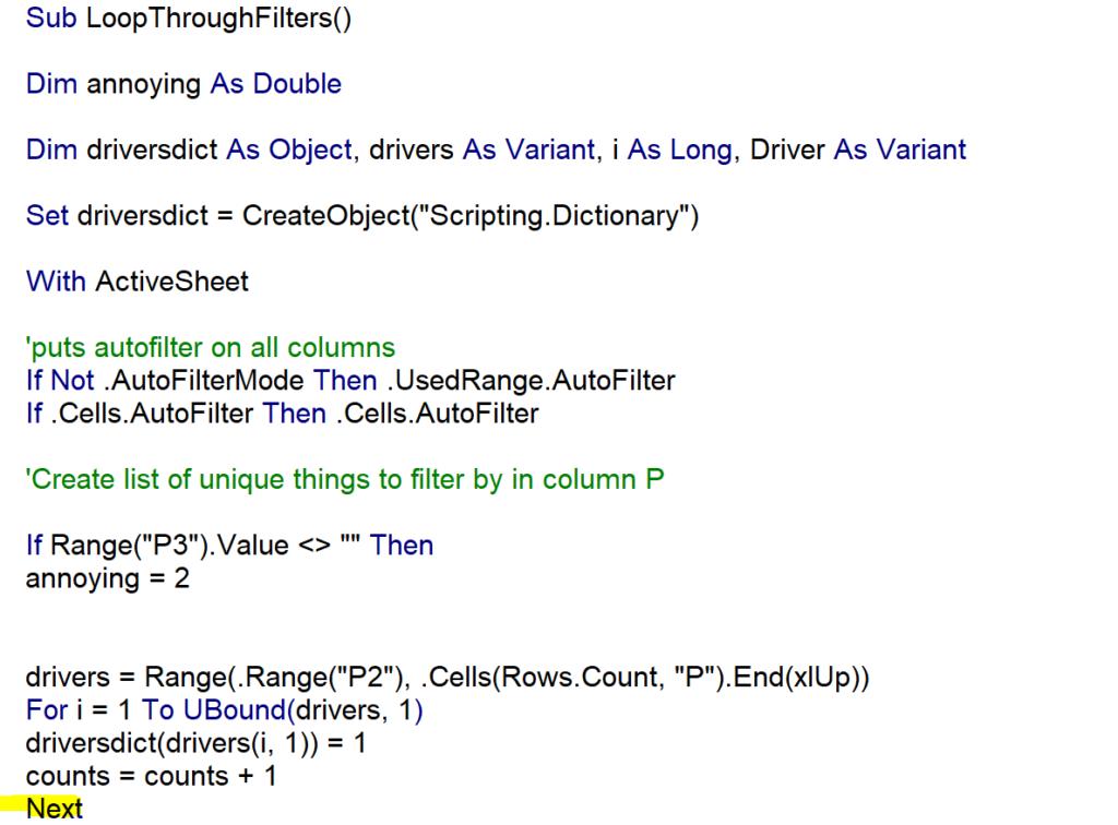 Pivot Table Filter Excel VBA – VBA Tutorial Code